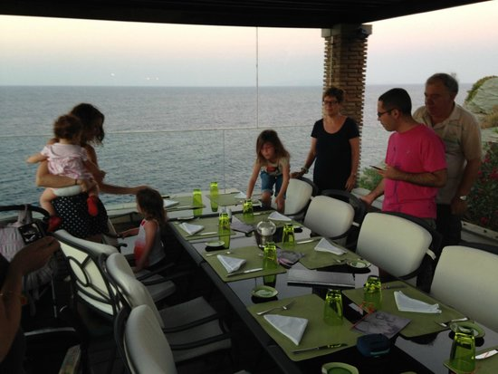 Out of the Blue Capsis Elite Resort : Italian restaurant at the hotel