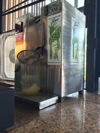 Oasis Cafe At Key Biscayne: Jugo de guarapo (sugar cane)