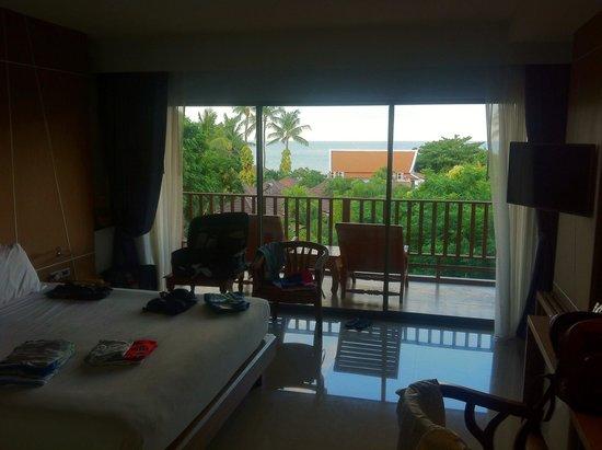 Chaweng Cove Beach Resort: Camera Deluxe 2* piano vista mare