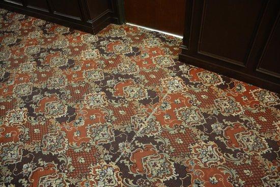 Comfort Suites : Carpet In Hallway