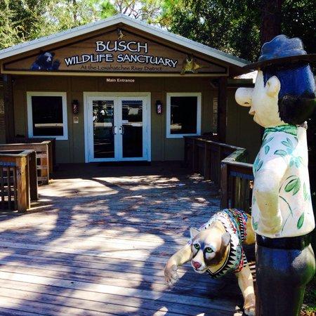 Jupiter, FL: Entrance to Shelter