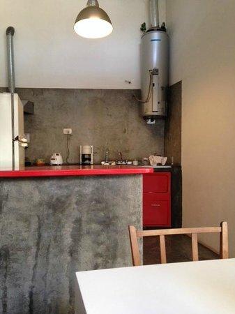 06 Soho Suites : Cocina donde desayunamos