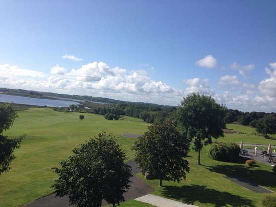 Glasson Country House Hotel & Golf Club: Great view.