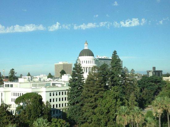 Hyatt Regency Sacramento : View from room towards Capitol