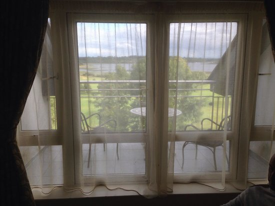 Glasson Country House Hotel & Golf Club: The balcony
