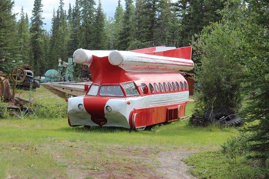 Tok, AK : Santa's Rocketship