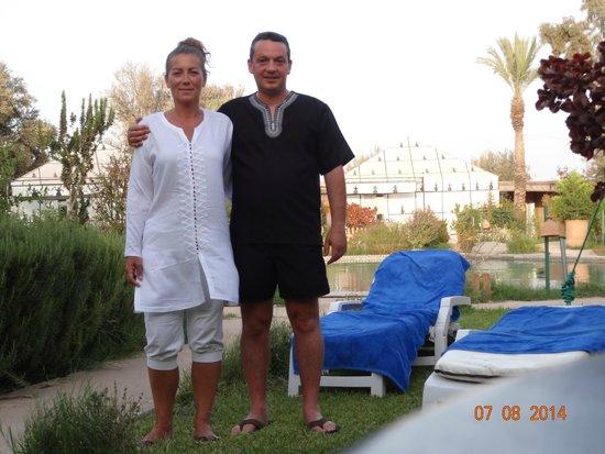 Hotel Dar Zitoune: Valérie et Frederik