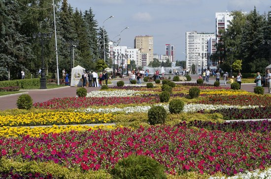 Salavat Yulaev Monument: Сквер у Салавата Юлаева