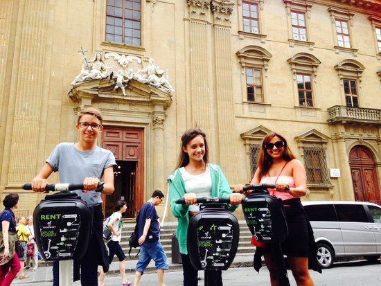Italy Segway Tours: Laughed all the way!