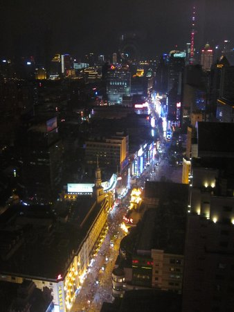 Le Royal Meridien Shanghai: View from our hotel room