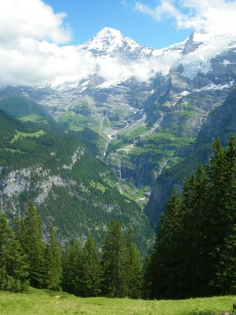 Eiger Guesthouse: Gorgeous views!