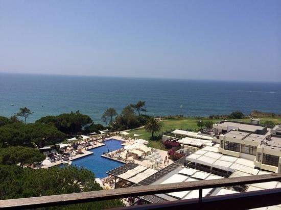 Club Med Da Balaia : vue du balcon de la 641 dans la tour ;)