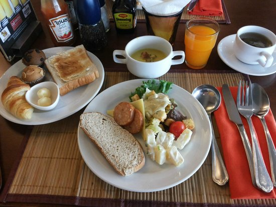 Le Siam Hôtel: Lovely Breakfast
