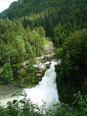 Bateaux du Saut du Doubs : cascade