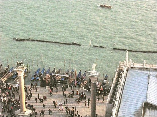 Piazza San Marco (Place St Marc) : Busy but bare able as an attraction