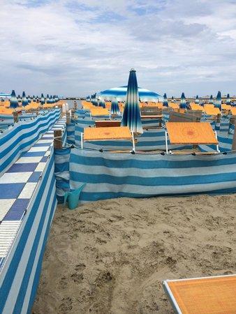Bagno Corallo: La spiaggia