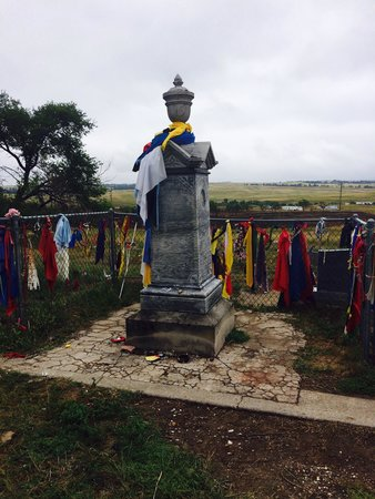 Wounded Knee Massacre Monument: This was moving. It IS worth the stop. You should be open minded to the way their burials are an
