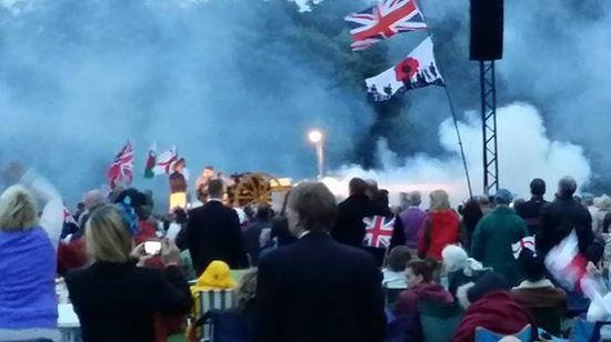 Buckle House: canon at the Battle Proms