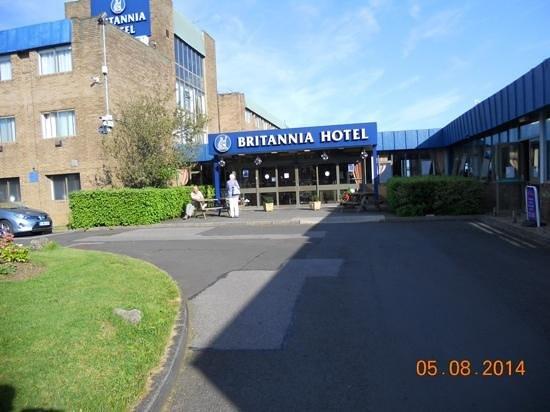 Britannia Hotel Newcastle Airport: No go area!