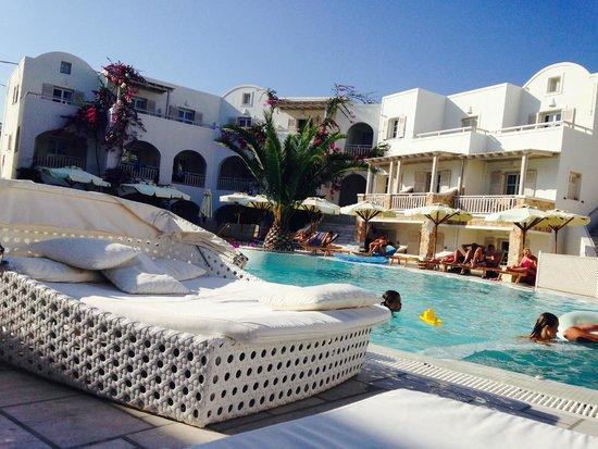 Aegean Plaza Hotel: relaxing