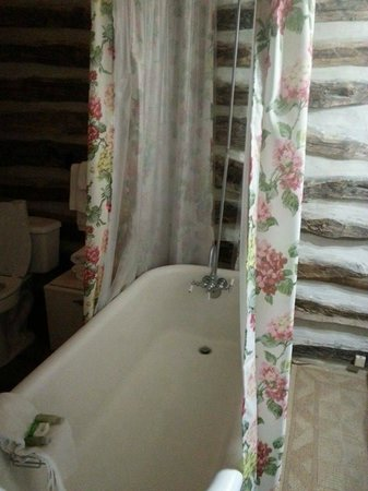 Ye Kendall Inn: Bathtub!