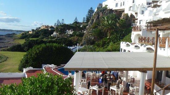 Club Hotel Casapueblo: Vista del hotel desde el mirador
