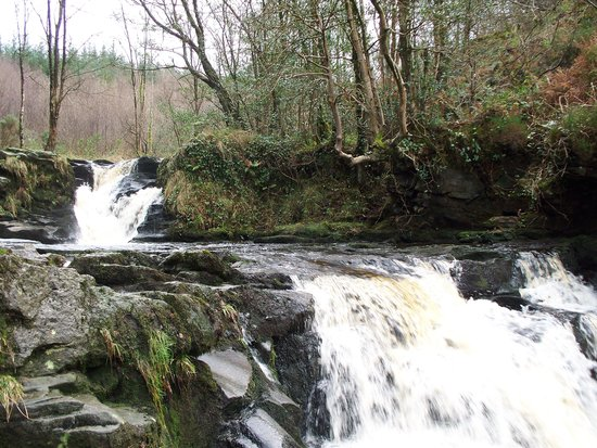 Kinnitty, Ireland: Glenbarrow falls