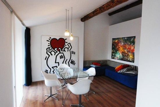soggiorno- cucina - Foto di Casa Donegani, Arco - TripAdvisor