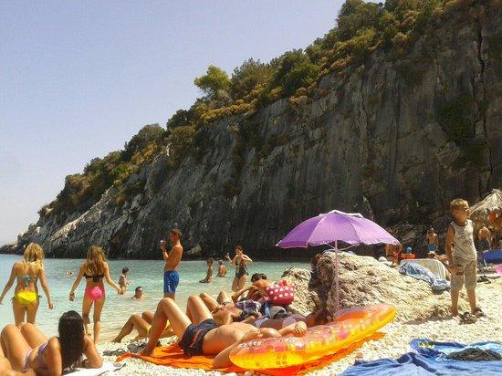 Xygia Sulphur Beach : Xigia beach 23/08/2014 morning