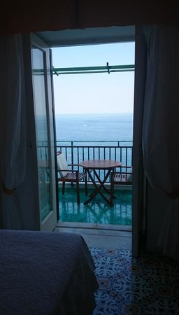 Santa Caterina Hotel: View from Junior Suite 78