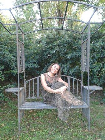 Podere Le Manzinaie: Romantica seduta