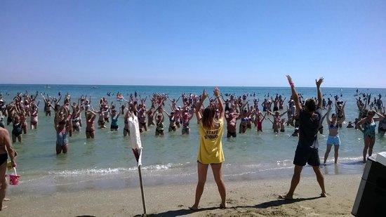 Hotel Touring: Пляжный фитнес Адриатики