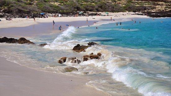 Manini'owali Beach (Kua Bay): Manini'owali Beach on Kua Bay.