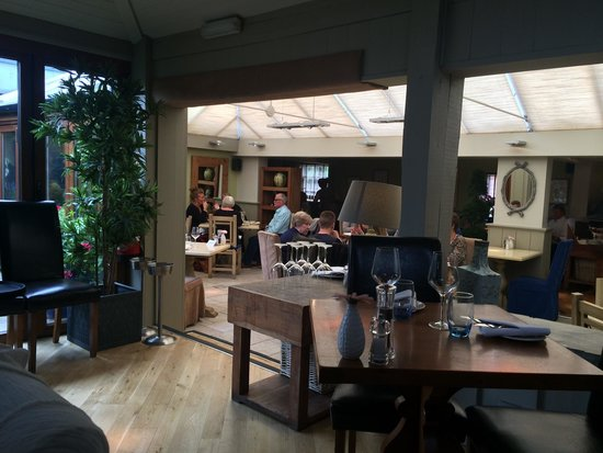 The Birch at Woburn: The restaurant