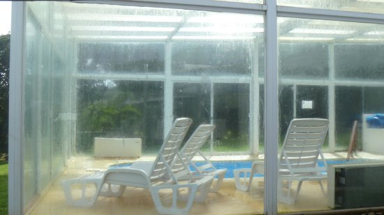 Club Hotel Casapueblo: Pileta cerrada y climatizada, sauna