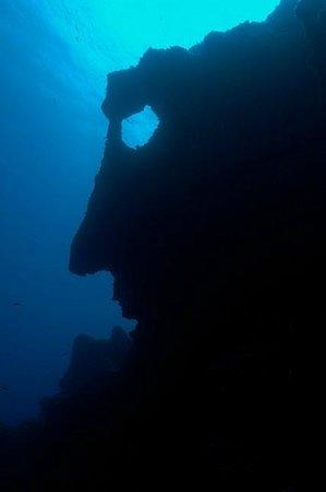 Hotel Bella Vista : Sous l'eau