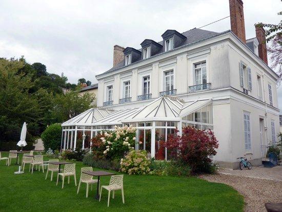 Hotel l'Ecrin : La véranda