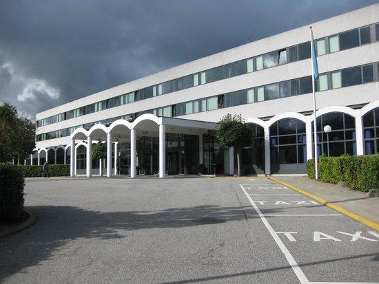 Comwell Kolding: Indgang til hotellet