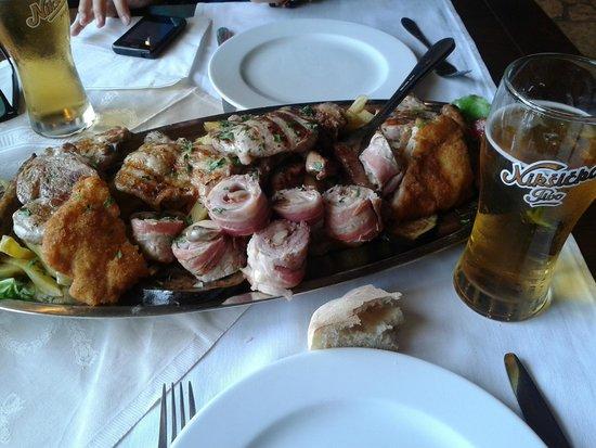 Restoran Olimp: Grigliata