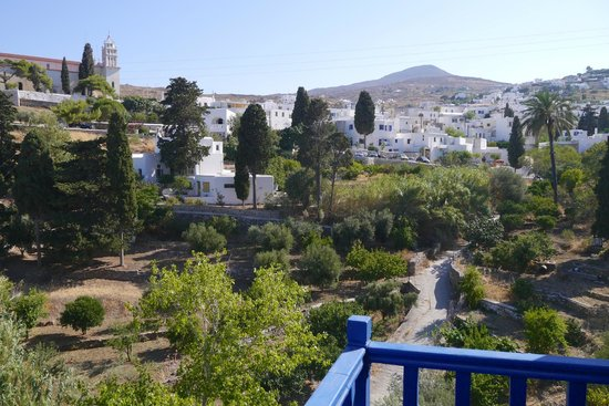 Lefkes Village Hotel: Lefkes from our room