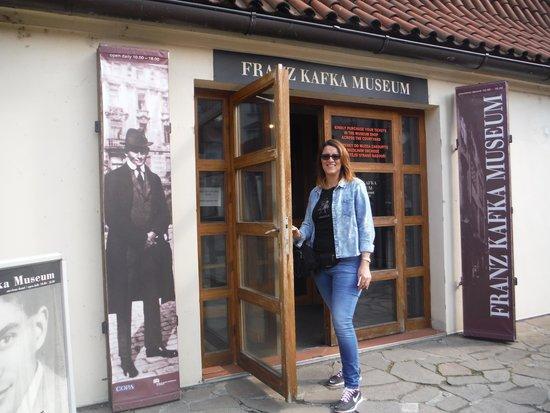 Musée Franz Kafka : Entrada al museo; en el interior están prohibidas las fotos