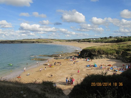 Harlyn Sands Holiday Park: beach