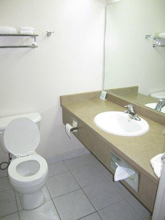 Super 8 Downtown Toronto: Bathroom