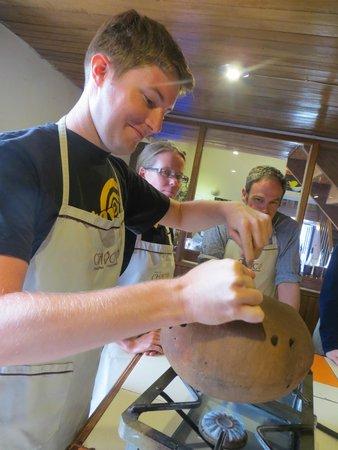 ChocoMuseo: Chocolate making class