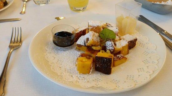 Hotel Majestic: Buonissimo piatto semi-dolce