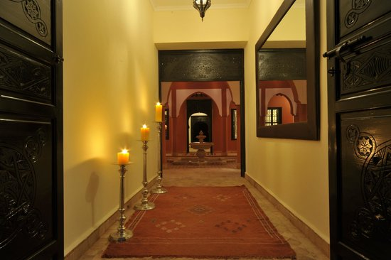 Coco Canel : entrée du Riad