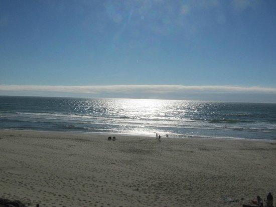 Surfside Resort: Evening view from room