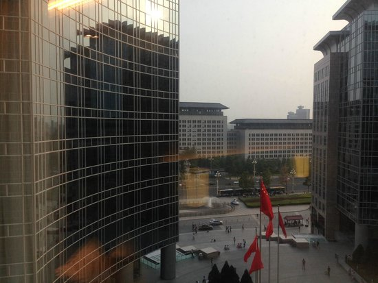 Grand Hyatt Beijing: View from the room in East Wing
