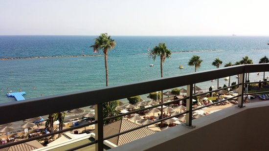 Atlantica Miramare Beach : View from our balcony