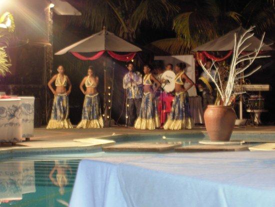 Cocotiers Seaside Boutik hotel : soirée